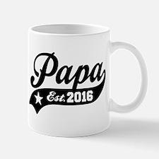 Papa Est. 2016 Mug