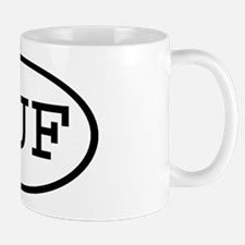 HUF Oval Mug