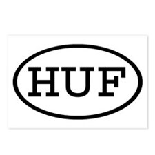 HUF Oval Postcards (Package of 8)