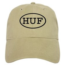 HUF Oval Baseball Cap