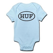 HUF Oval Infant Bodysuit