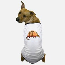 Mosaic Orange and Red Armadillo w Meta Dog T-Shirt