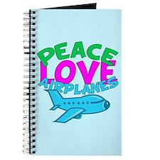 Cute Airplane Journal