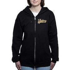 Badass Since 1980 Women's Zip Hoodie