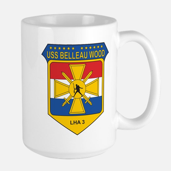 USS Belleau Wood LHA-3 Mugs