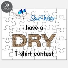 SAVE WATER have a DRY T shirt Contest Puzzle
