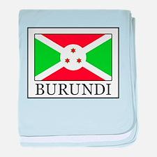 Burundi baby blanket