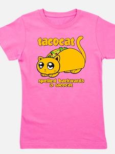 Funny! Taco Cat Girl's Tee