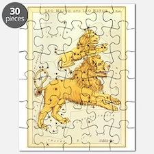 Vintage Celestial Zodiac, Leo Puzzle