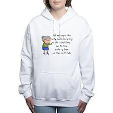 SENIOR MOMENTS - AT MY A Women's Hooded Sweatshirt