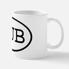 HUB Oval Mug