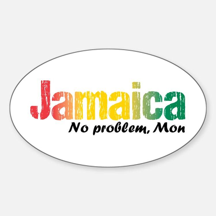 Jamaica No Problem tri Decal