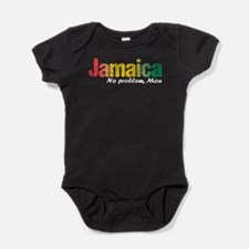 Jamaica No Problem tri Baby Bodysuit