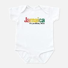 Jamaica No Problem tri Infant Bodysuit