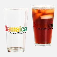 Jamaica No Problem tri Drinking Glass