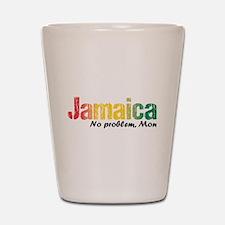 Jamaica No Problem tri Shot Glass