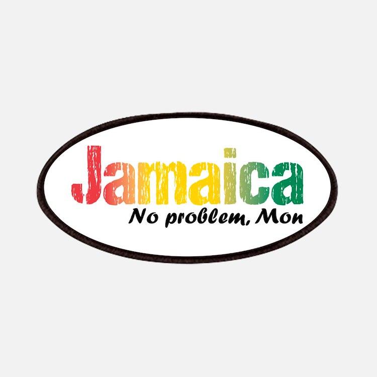 Jamaica No Problem tri Patch