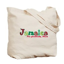 Jamaica No Problem tri Tote Bag