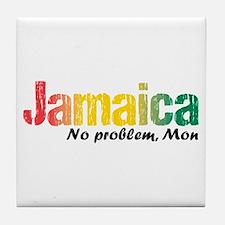 Jamaica No Problem Tri Tile Coaster