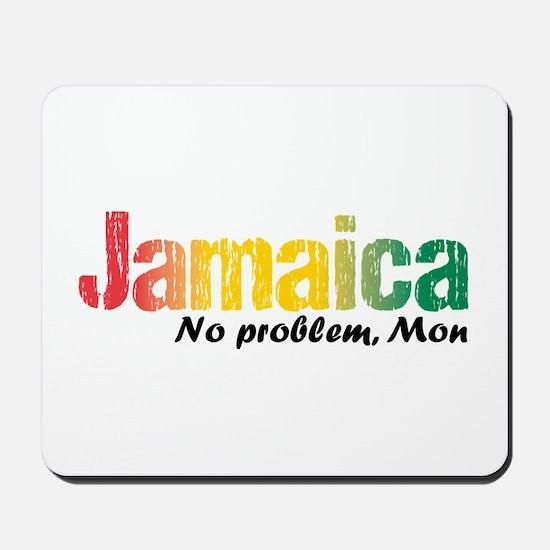 Jamaica No Problem Tri Mousepad