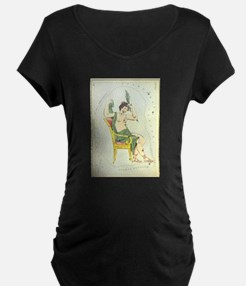 Cassiopeia Constellation Maternity T-Shirt