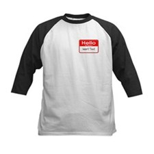 Personalized Hello Name Tag Tee