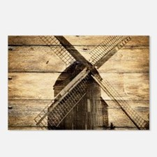 barnwood western country Postcards (Package of 8)