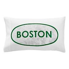 Boston Green White Stone Pillow Case