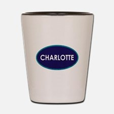 CHARLOTTE OVAL STONE Shot Glass