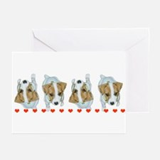 Jack Russell Greeting Cards (Pkg. of 6)
