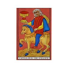 Cavalier de Coupe Tarot Card Magnet