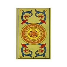 Le Denier Tarot Card Magnet