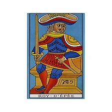 Roy D'Epee Tarot Card Magnet