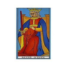 Reyne D'Epee Tarot Card Magnet