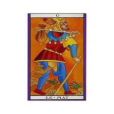 0. Le Mat (Fool) Tarot Card Magnet