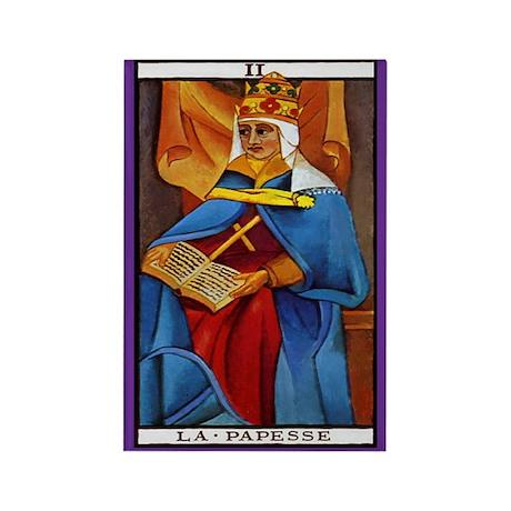 2. La Papesse (High Priestess) Tarot Card Magnet