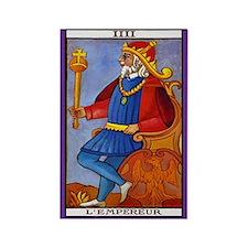 4. L'Empereur (Emperor) Tarot Card Magnet
