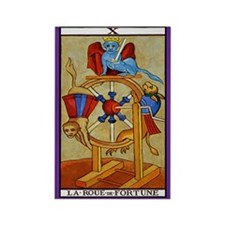 10. La Roue Fortune (Wheel Fortune) Tarot Magnet