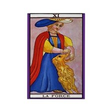 11. La Force (Strength) Tarot Card Magnet