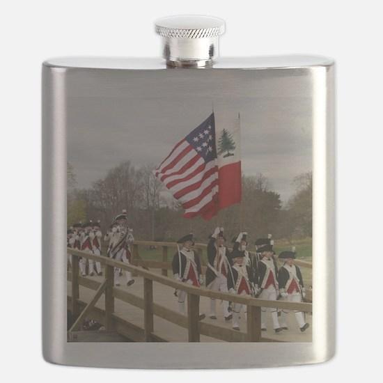 Revolutionary War Flask