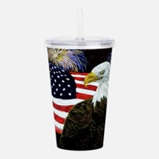 Eagle Pride Acrylic Double-wall Tumbler