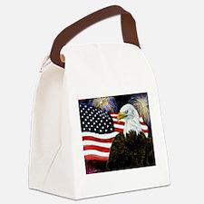 Eagle Pride Canvas Lunch Bag