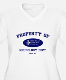 Greys Neuro Department Plus Size T-Shirt