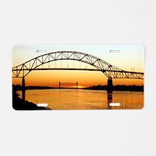 Cape Cod Bourne Bridge Aluminum License Plate