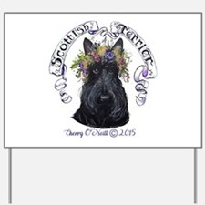 Summer Scottish Terrier Yard Sign