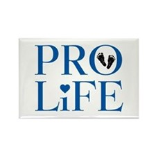 Pro Life Blue Magnets