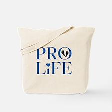 Pro Life Blue Tote Bag