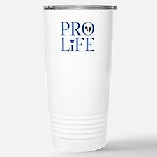 Pro Life Blue Travel Mug