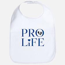 Pro Life Blue Bib