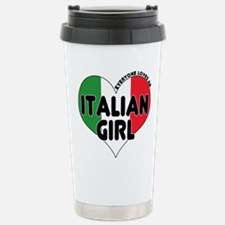 Cute Italian girl Travel Mug